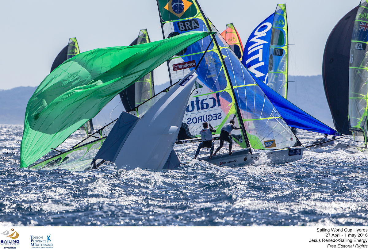 ©Jesus Renedo/Sailing Energy/World Sailing The Sailing World Cup Hyères TPM 49er