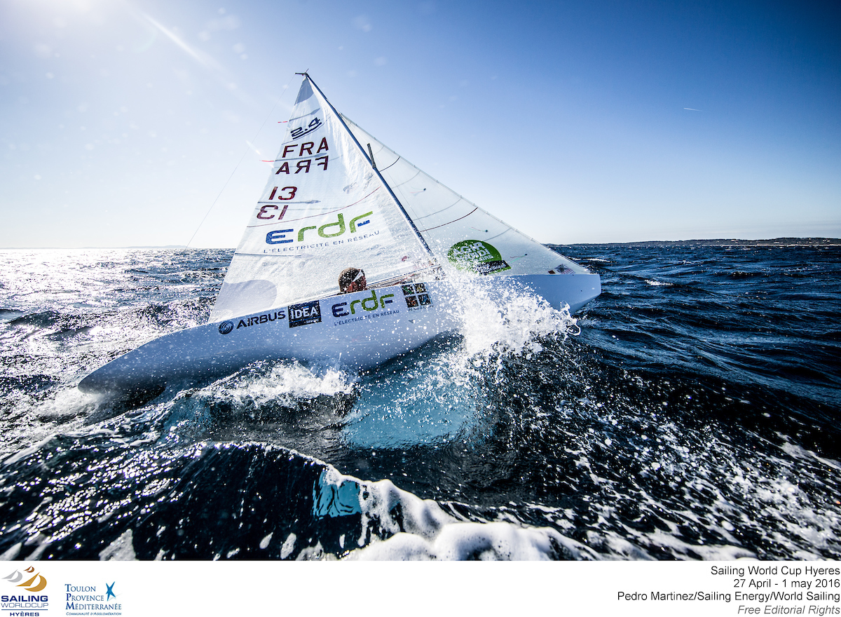 Sailing World Cup Hyeres 2016 2.4mR